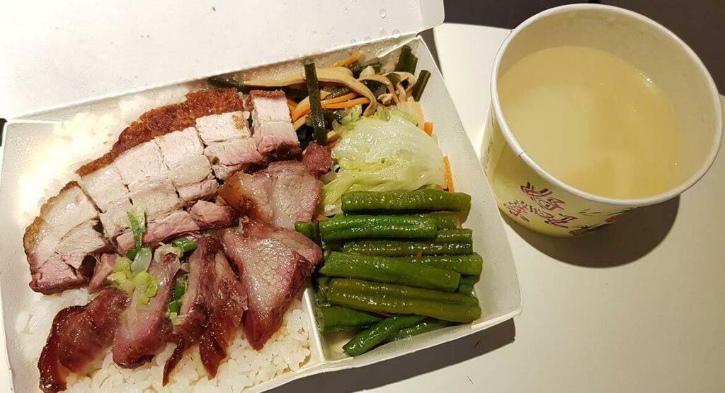 防疫晚餐(優秀的脆皮烤豬)