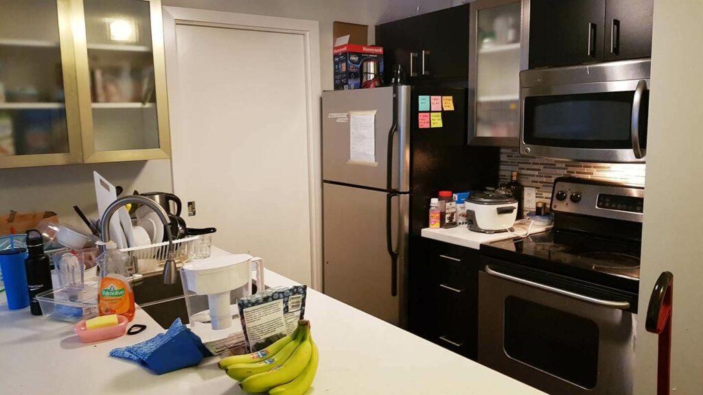 溫哥華住宿downtown廚房