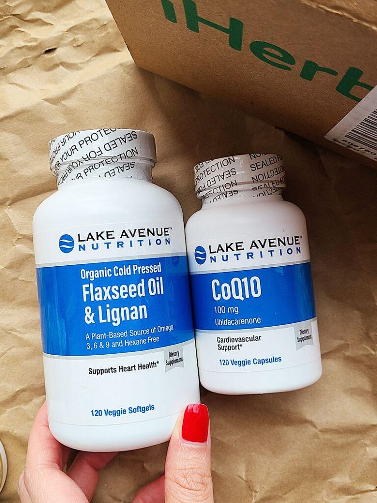 Lake Avenue Nutrition Q10 & 亞麻仁油