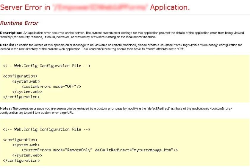 網站可信度:伺服器錯誤會降低可信度