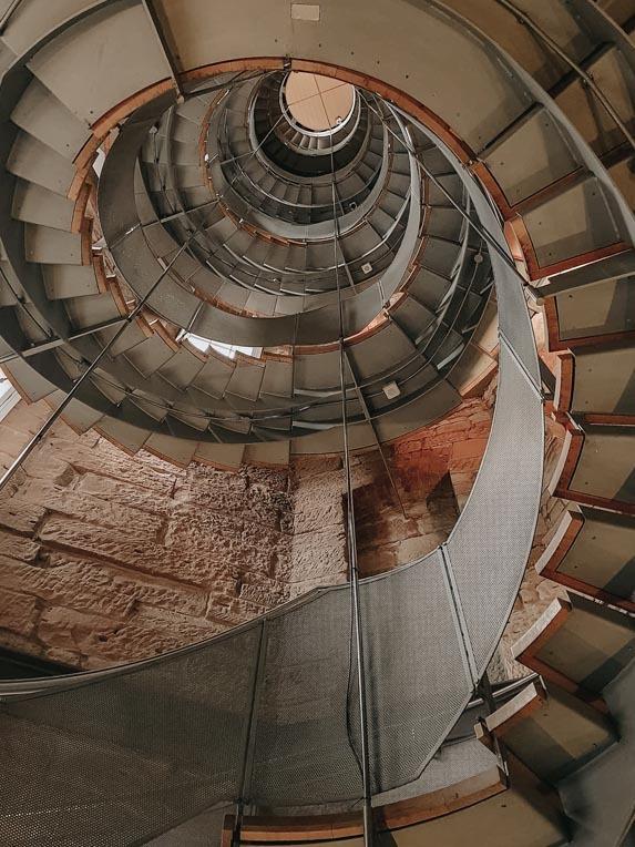 就像走旋轉樓梯,不斷前進